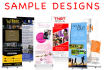 design a Professional PopUp and Roller BANNERS
