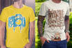 design Eye Catching Custom T Shirt Design