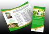 design a PROFESSIONAL trifold brochure