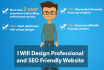 design SEO friendly website