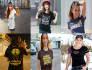 photoshop your LOGO on Cute Model tshirt