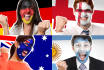 paint any country flag on your face