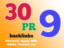 boost your Google Rankings with high PR9 10 Seo Social Backlinks