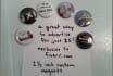 create 5 custom magnets