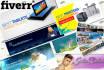 do High Quality WEB banner , header , cover