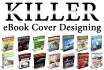 design UNIQUE eBook or Book Covers