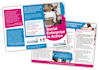 do double sided design for a flyer, poster or leaflet