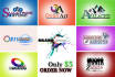 create any graphics logo,cards,header,covers,or editing