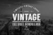 elegantly design retro vintage logo