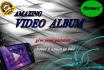 create an Amazing video album