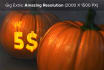 engrave your Logo or Name in a Pumpkin