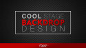 design COOL Stage Backdrop Banner for you