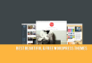 install a new theme to your wordpress blog or site