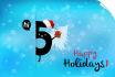 do a LOGO for the Holidays