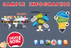 create PROFESSIONAL infographic just 24hr