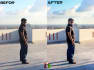 make your 10 images an awesome color correction