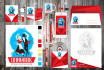 design a STATIONERY for you