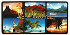 send you a beautiful random large postcard 12cmx24cm from mauritius