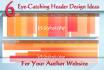 design web Header, Banner, Ads for you