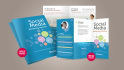 create 2 different flyer,brochure for you