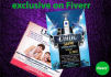 design an Amazing Flyer,Banner,Cover,Business Card