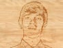 do a wood carving of your image