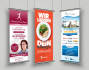 design AMAZING Roll up Banner Signage Billboard