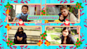make a christmas video with your own pics and text