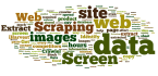 do web scraping, data extraction