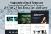 design HTML Email Template