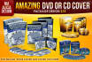 design AMAZING dvd cover or cd cover