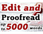 professional proofread and edit 5000 words Any document in 24Hrs