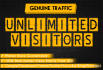 drive UNLIMITED targeted genuine traffic to your website
