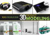 create photorealistic product modeling or visualization