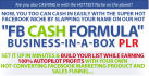 give You The Best FB Cash Formula