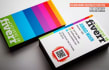 make professional BUSINESS card design with Qr code
