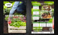 design Food Menu, flyer,poster and postcard within 6 hours