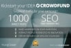 market your Crowdfund campaign online to bring you funds