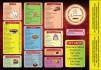 design restaurant, bar,cafe menu card