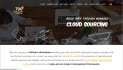 install create one page parallax scrolling website