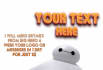 make Baymax from Big Hero 6 wear your logo or message