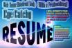 design Resume,Cv,Curriculum Vitae, Cover Letter