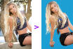 do any 20 image background remove, add  and heir masking
