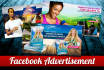 design a facebook cover, ads