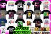 create a professional Tshirt design