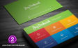 design MODERN business card in 12 Hours