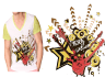 design CREATIVE and trendy t shirt for you