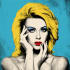draw a custom pop art and digital vector portrait