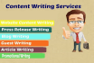 write top quality SEO friendly content on any topic