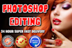 professionally retouch and edit any photo
